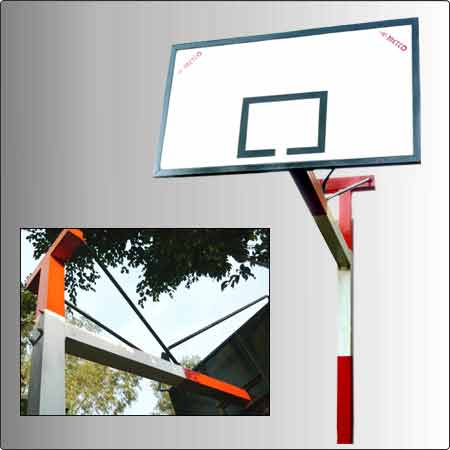 Basket Ball Poles and Boards