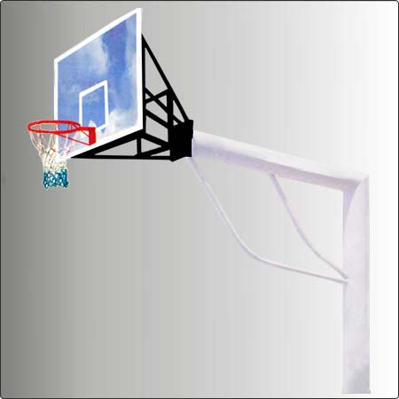 Basket Ball Pole Round Pipe Umbrella Systems