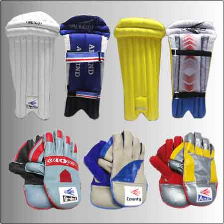 Wicket Keeping Legguards And Gloves
